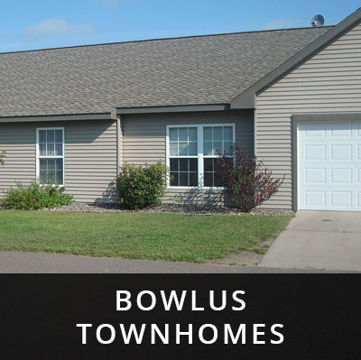 Bowlus Townhomes for rent Bowlus MN