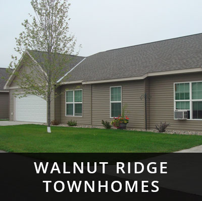 Walnut Ridge Townhomes for rent Upsala MN