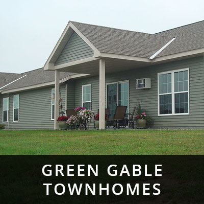 Green Gable Townhomes for rent Wadena MN