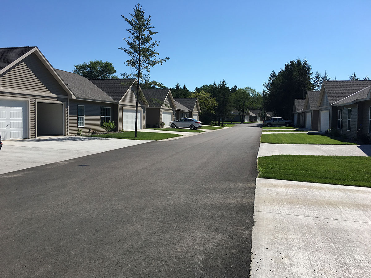 Evergreen Terrace Townhomes Courtyard Property Management